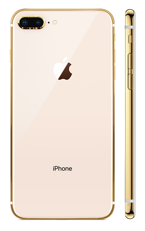iPhone 8 Plus Gold 24k Розовый