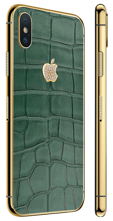 X Gold Diamond Exotique Green
