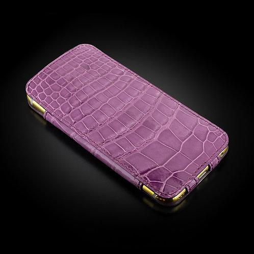 Чехол. Фиолетовый аллигатор