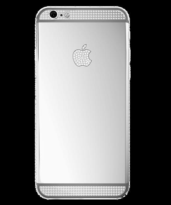 6S Platinum Swarovski 128gb