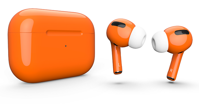 AirPods Pro orange оранжевые
