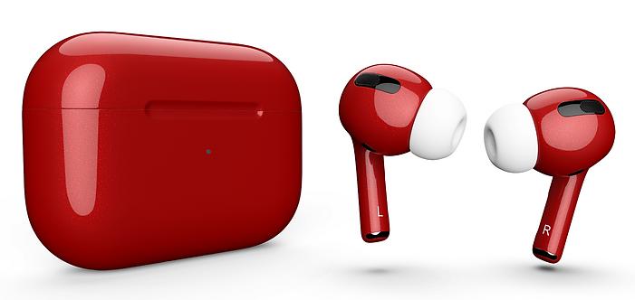 AirPods Pro Cherry вишневые перламутр