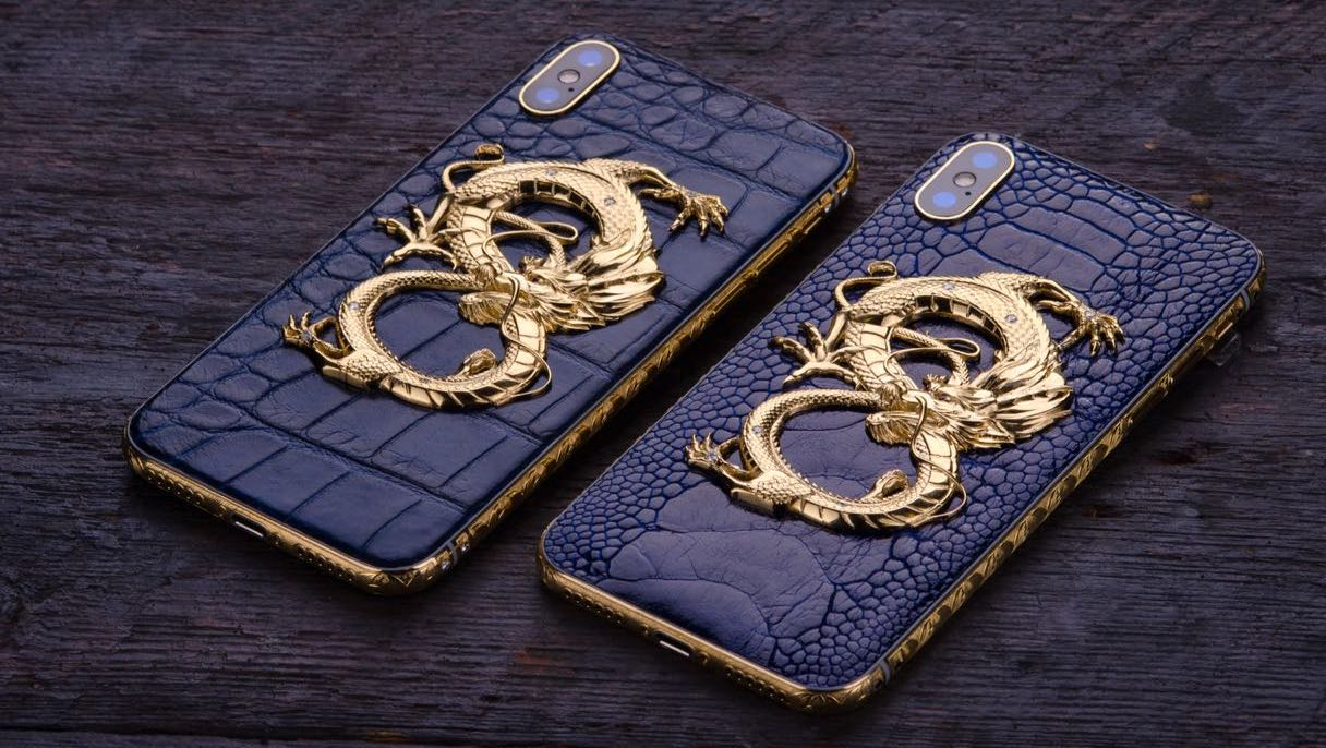 iPhone X _ XS Max Golden Dragon