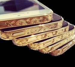 iPhone 5S Gold Engraved эксклюзивный