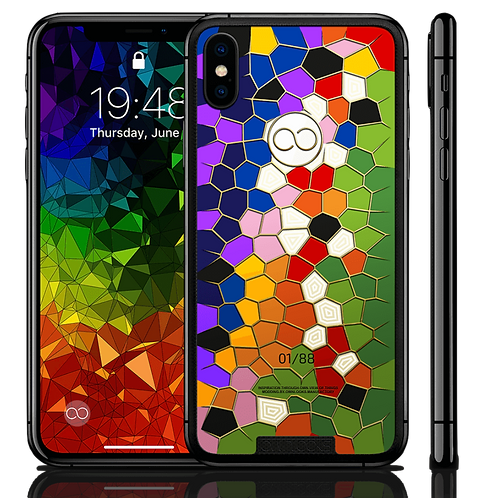 iPhone XS Cell Rainbow