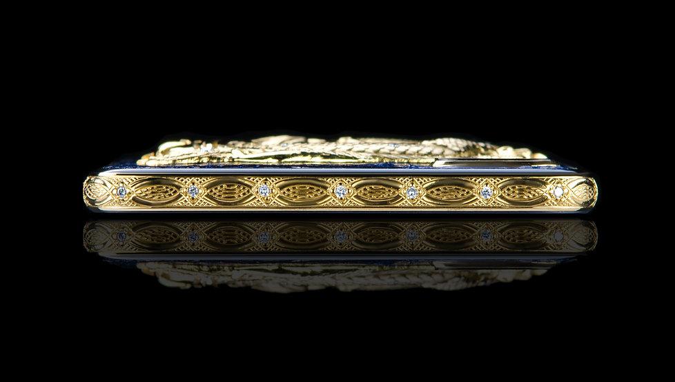 iPhone 8 Plus Gold 24k Premium Dragon Ruby Monarch Diamonds
