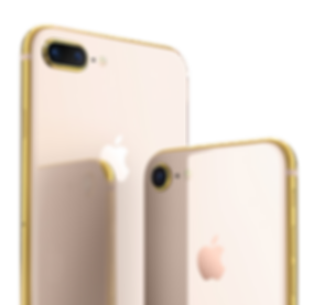 iPhone 8 plus rose gold 18k