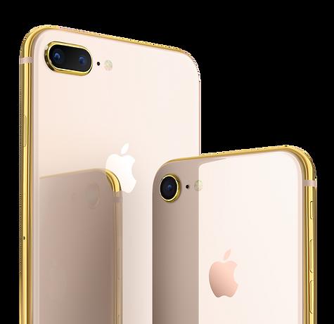 iPhone 8 plus rose gold 18k