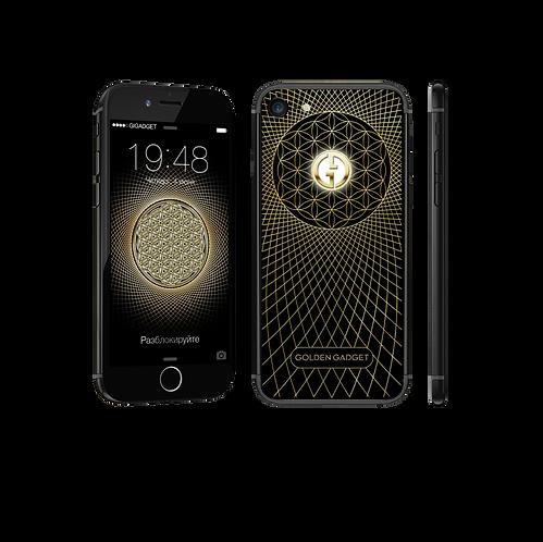 Flower of Life - Black - iPhone 7