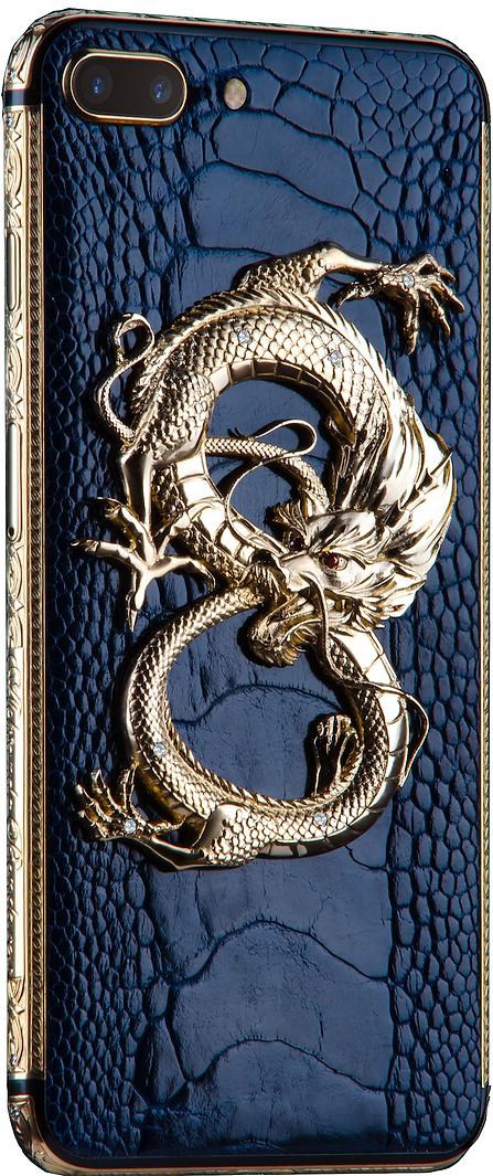 iPhone 8 Plus Gold 24k Premium Dragon Ruby Monarch