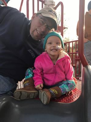 Emery And Her Grandpa