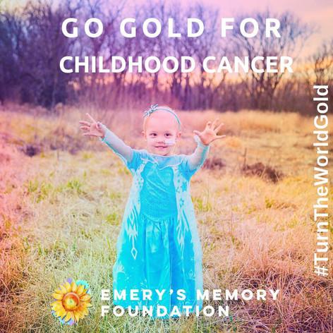 Go Gold For Childhood Cancer