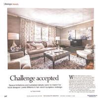 Charlotte Home/Design in Charlotte Observer - December 1, 2018