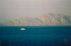 Mountain of Sand on the Ocean Sharm El Sheikh