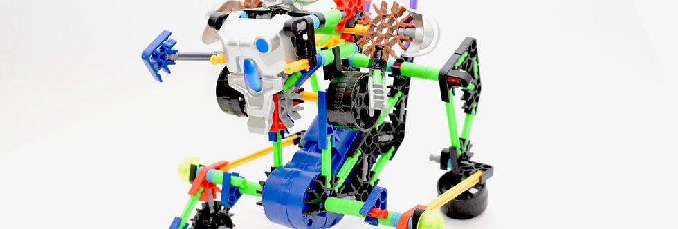 [STEM Robotic 系列] DIY 百變機械人