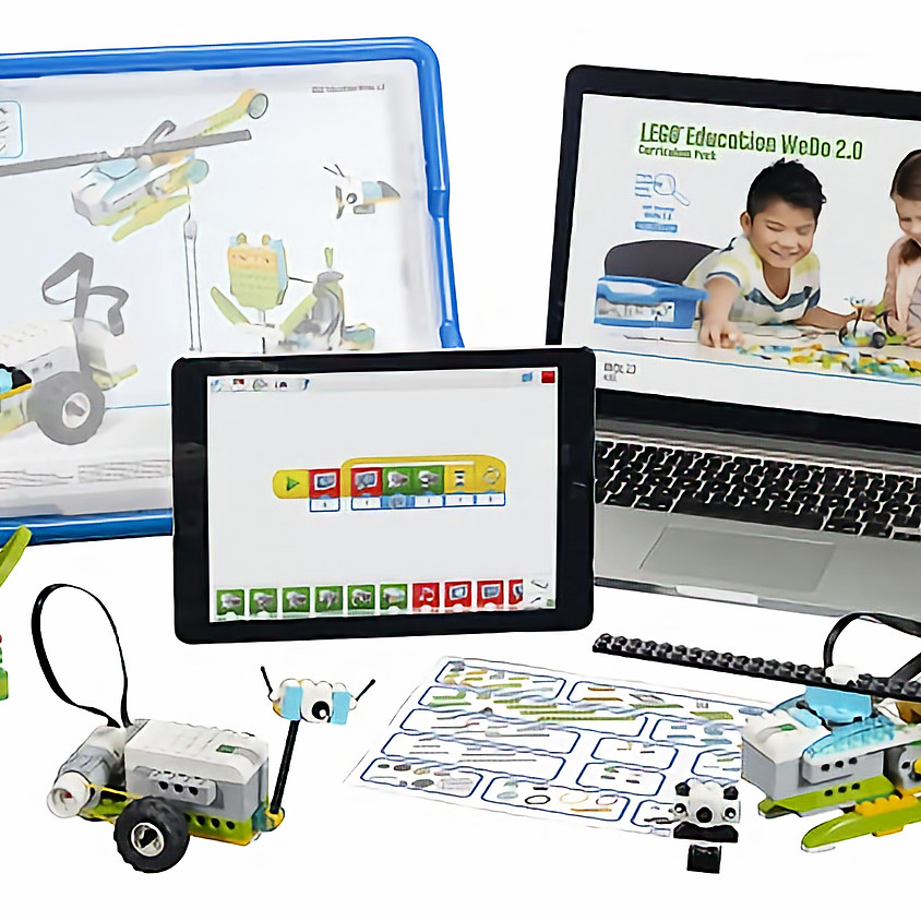 1-on-1 learning made for you: LEGO We-Do機械工程師