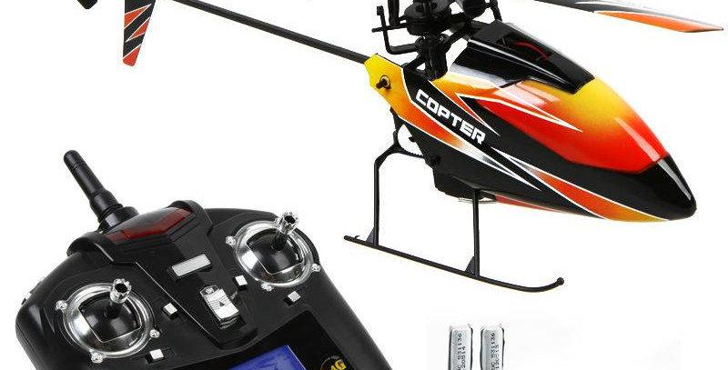 2.4G 四通道遙控單槳直升機 (RTF)