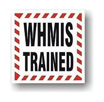 whmis training certifiate