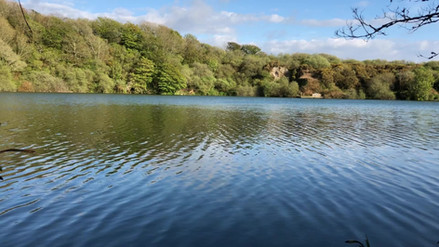 Wheal Grey Lake - Evening view
