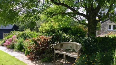 The garden's path