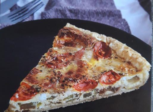 Quiche met tomaat, courgette en gerookt spek 🍕🥒🍅🥓: Koken met lekkers van de boer