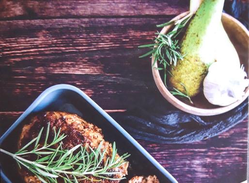 Homemade gehaktbrood met peer en rozemarijn 🍐: Koken met lekkers van de boer
