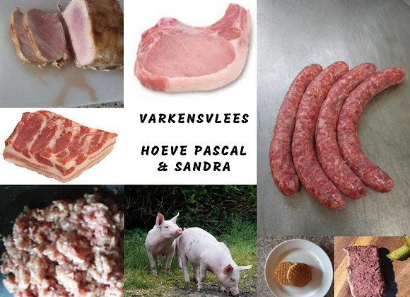 Pakket varkensvlees (5kg-15kg-35kg)