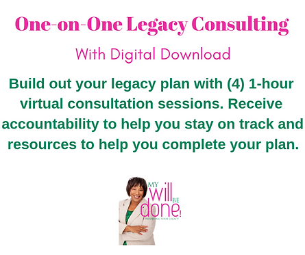 One-on-One Legacy Consulting with Digital