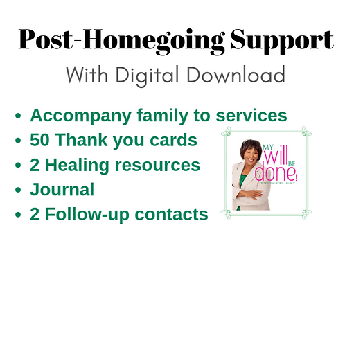 Post-Homegoing Support with Digital