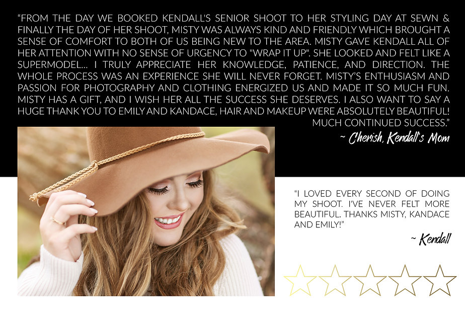 Rave and reviews about Misty Doyle from Kendall and Cherish