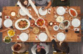 お祝いディナー