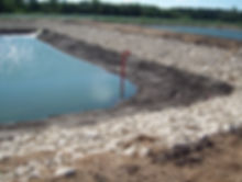 Lagoon Riprap, Civil Engineering Design, Kramer Consulting, LLC