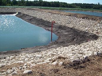 Lagoon Riprap, Civil Engineering Design, Kramer Consulting, LLC