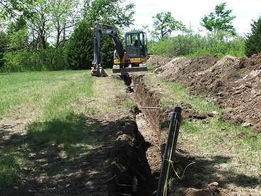 HDPE Gas Pipeline, Civil Engineering Design, Kramer Consulting, LLC