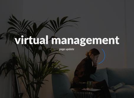 Virtual management page