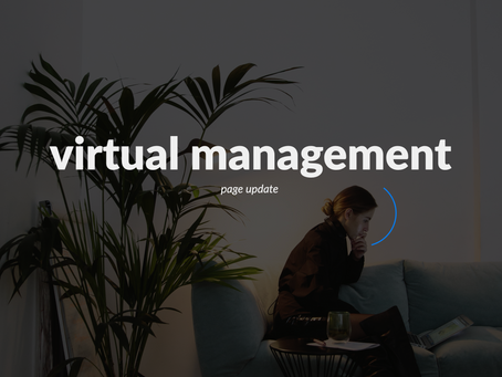 Virtual management page