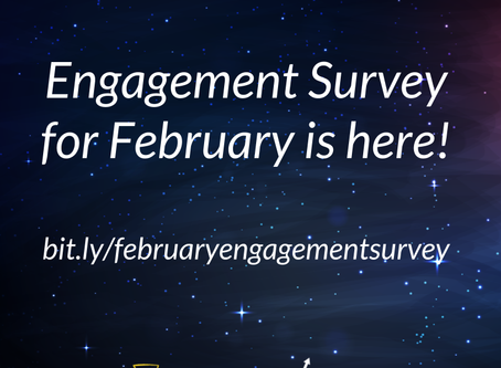Engagement Survey is here!