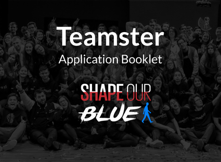 Teamsters 2019.2 Applications are out!