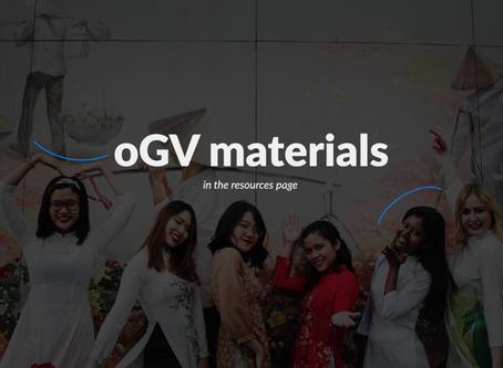 oGV winter peak materials are here!