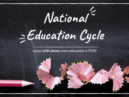 National Education Cycle is here!