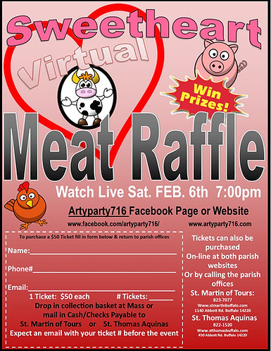 Meat Raffle Ticket