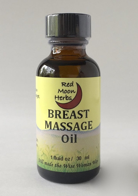 Breast Massage Oil, 1oz