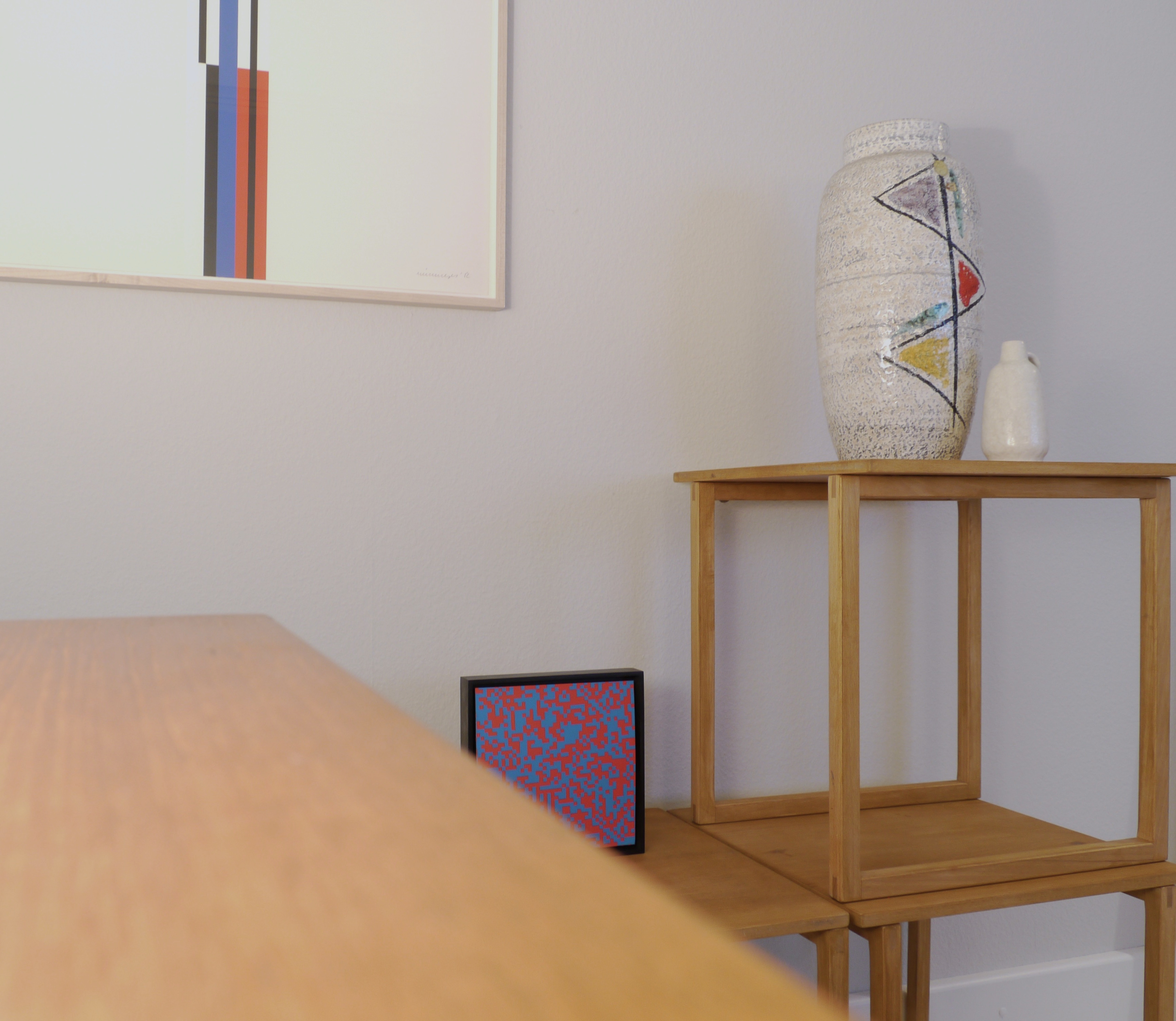 Cube Nesting Tables
