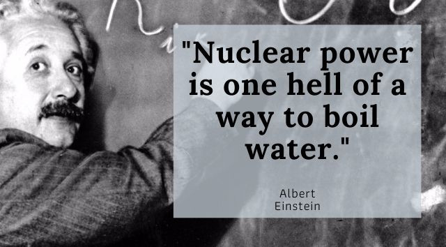 Famous Quotes About Nuclear Energy