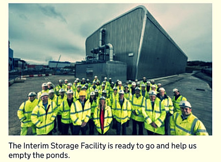 Sellafield Ltd's Interim Storage Facility (ISF) project is ready to support waste retrievals.