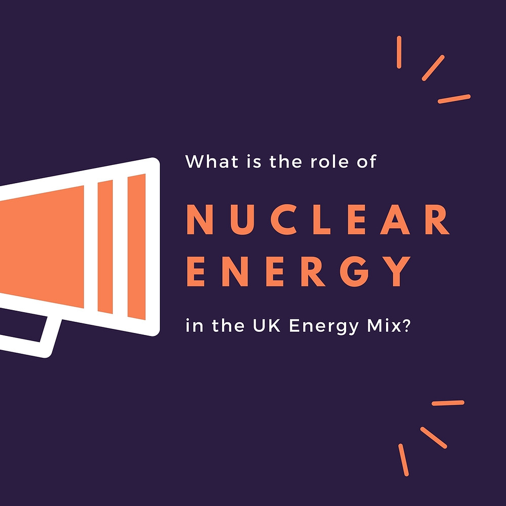What is the role of nuclear energy in the UK energy mix?