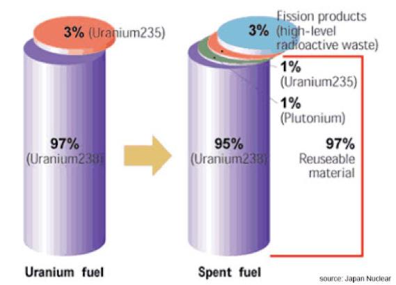 Spent Uranium Fuel