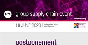 NDA postpones annual Supply Chain Event