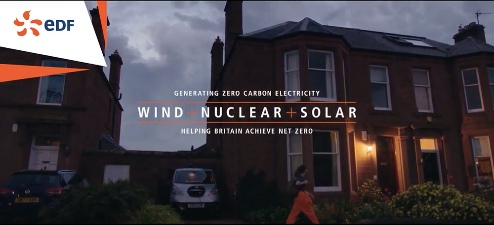 EDF Energy WIND + NUCLEAR + SOLAR