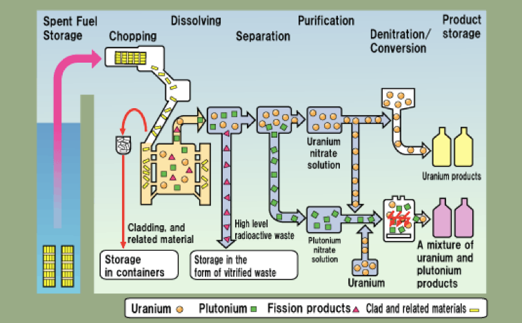 Nuclear Fuel Recycling